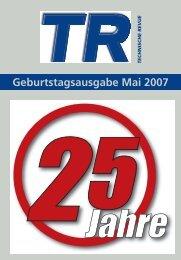Geburtstagsausgabe Mai 2007 - Thomas Industrial Media