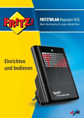Handbuch FRITZ!WLAN Repeater N/G - M-net