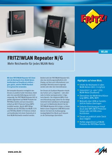 WLAN Repeater N/G - Vodafone