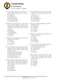 01. Untuk melakukan klasifikasi pada hewan in ... - zenius.net