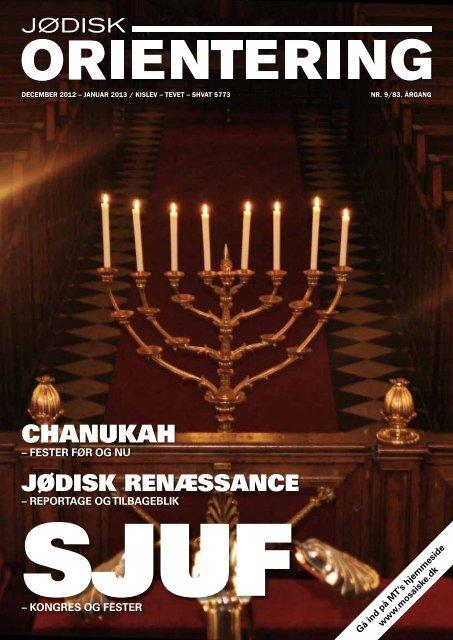 Jødisk Orientering december 2012 - Det Mosaiske Troessamfund