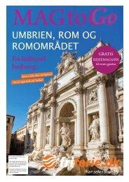 UMBRIEN, ROM OG ROMOMRÅDET - Dansk Fri Ferie