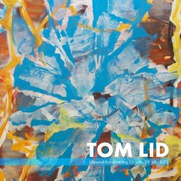 tom-lid-katalog - lillesand kunstforening