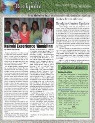 Nairobi Experience 'Humbling' - Razorplanet