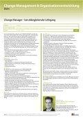 Change Manager — Berufsbegleitender Lehrgang - Seite 2