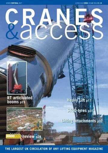 Complete issue of Cranes & Access in one - Vertikal.net