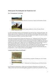 Hintergrund: Das Ruhrgebiet im Wandel der Zeit
