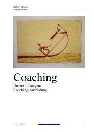 Coaching-Ausbildung