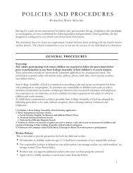 POLICIES AND PROCEDURES - Razorplanet
