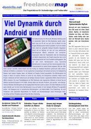 Viel Dynamik durch Android und Moblin