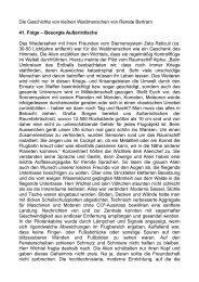 Die Geschichte von kleinen Waldmenschen von Renate Bertram 41 ...