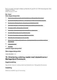 78. Orientering omkring mødet med lokalarkiverne i Mariagerfjord ...