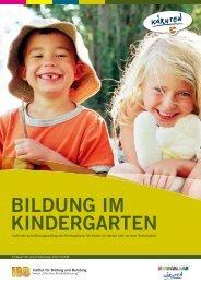 Bildung im Kindergarten - Pixelpoint Multimedia Werbe GmbH