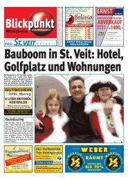 Bauboom in St. Veit - Pixelpoint Multimedia Werbe GmbH