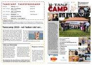 Tanzcamp Zeitung Sonntag 04.10.09.pub