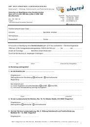 Ansuchen um Bewilligung eines Sonderurlaubes Gem. § 57 (1) LDG ...