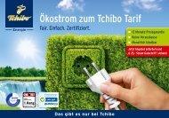 Ökostrom zum Tchibo Tarif - Tchibo Online-Shop