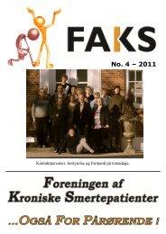 Blad no.4, 2011 - FAKS
