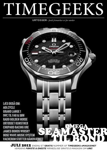 SEAMASTER TIL BOND - watchlinks.net