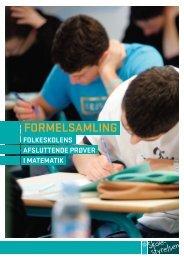 FORMELSAMLING - Undervisningsministeriet