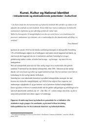 Download rapport - Center for Kunst & Interkultur