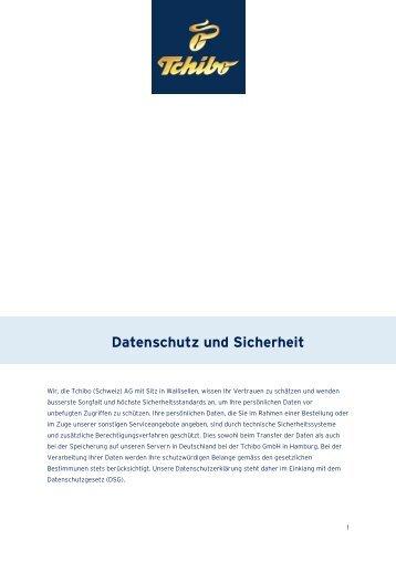 datenschutz und sicherheit 17052013 tchibo online shop. Black Bedroom Furniture Sets. Home Design Ideas