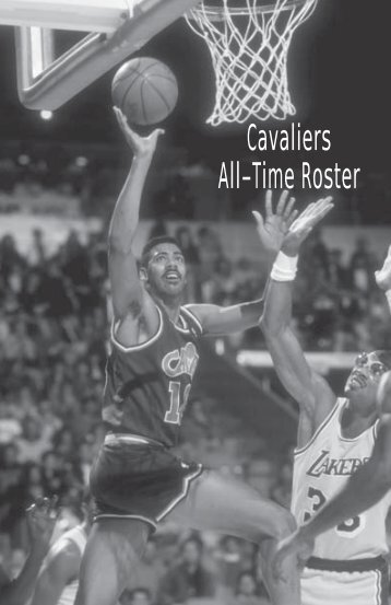 Cavaliers All-Time Roster - NBA Media Central