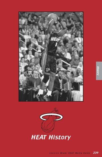 HEAT History - NBA Media Central