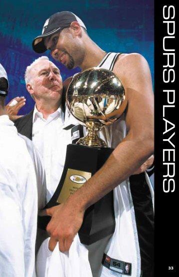 SPURS PL A YERS - NBA Media Central