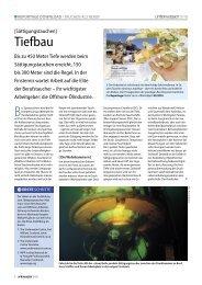 Tiefbau - Unterwasser