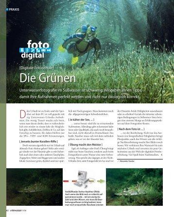 Die Grünen - Unterwasser