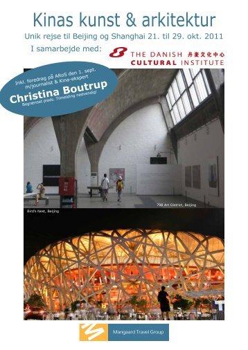 Kinas kunst & arkitektur - Mangaard Travel Group