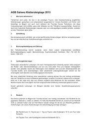 AGB Salewa Klettersteigtage 2013 - Alpin.de