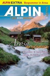 Bergsommer in Arosa - Alpin.de