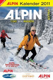 Kalender 2011 - Alpin.de