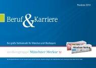 Beruf Karriere - mediengruppe Münchner Merkur tz - Mediadaten ...