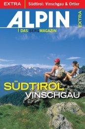 Südtirol: Vinschgau - Alpin.de