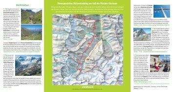 Unvergessliches Hüttentrekking am Fuß der Ötztaler ... - Alpin.de