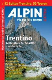 + 32 Seiten Trentino: 50 Touren - Alpin.de