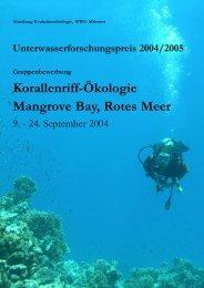 Red Sea Bewerbung .qxd - Unterwasser