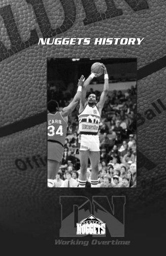 NUGGETS HISTORY - NBA Media Central
