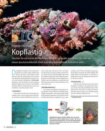 Kopflastig - Unterwasser