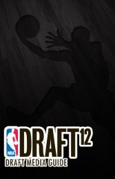 Player Eligibility and nBa Draft - NBA Media Central