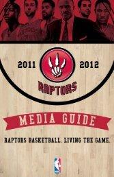 2011-12 Media Guide (.pdf) - NBA Media Central