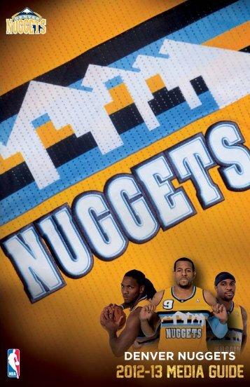 DENVER NUGGETS - NBA Media Central