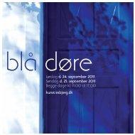 Blå Døre katalog 2011