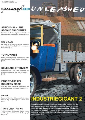 Ausgabe 04/2002 - Gameswelt