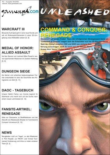 command & conquer - Gameswelt