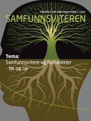 Samfunnsvitere og humanister - Samfunnsviterne