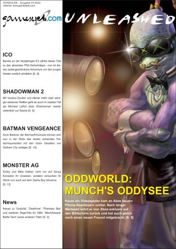 Ausgabe 07/2002 - Gameswelt